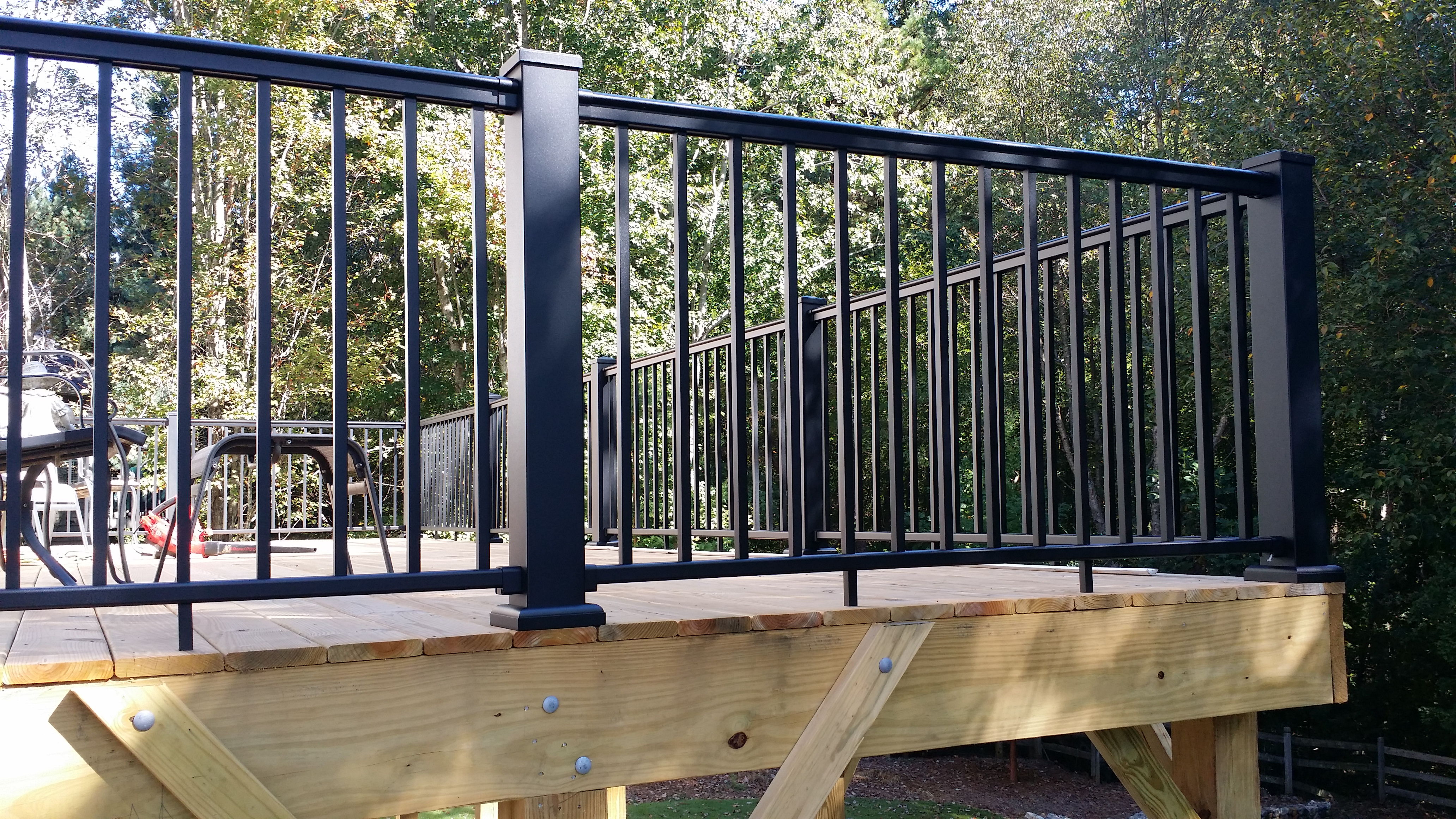Deck Railings Stair Solution