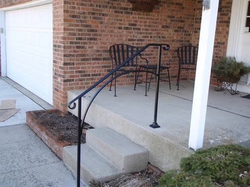 Safety Rail for Front Steps