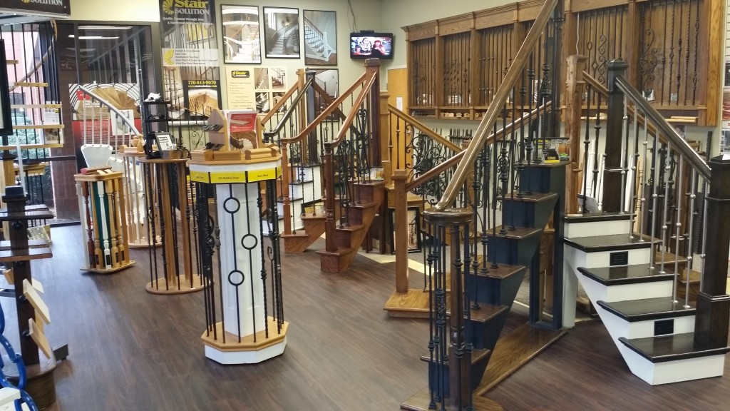 Our Showroom Stair Solution