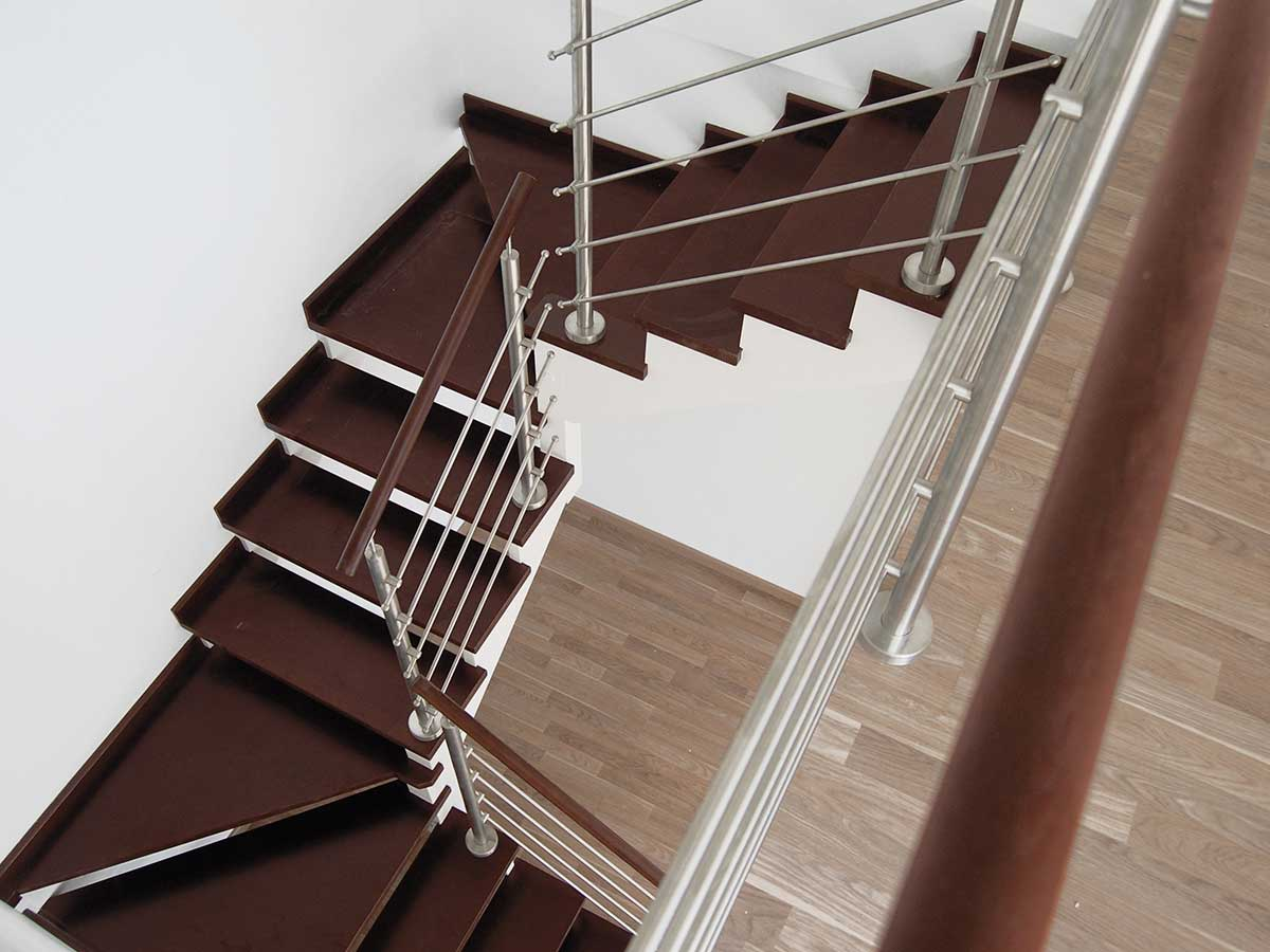 Modern staircase and open design staircase and railing for Stair and railing solution