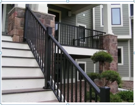 While Curb Appeal Is Important, Itu0027s Also Smart To Remember All Sides Of  Your Home. Our Spiral Exterior Arke Stairs Are Typically Installed On The  Backside ...