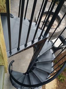 Exterior-Spiral-Staircase