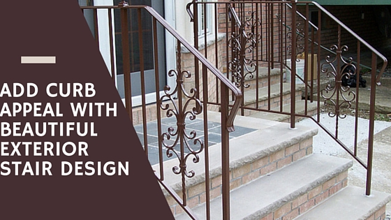 Add Curb Appeal To Your Home With Beautiful Exterior Stair Design