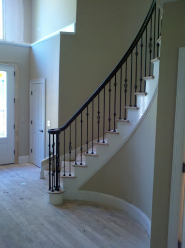 Curved Staircase Iron