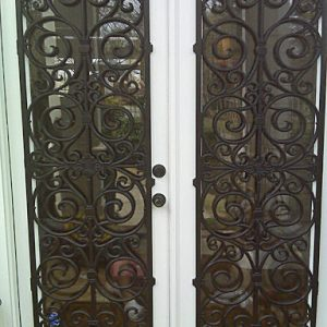 Exterior Iron Accents