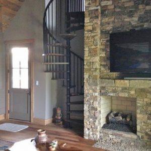 Cabin Home Spiral