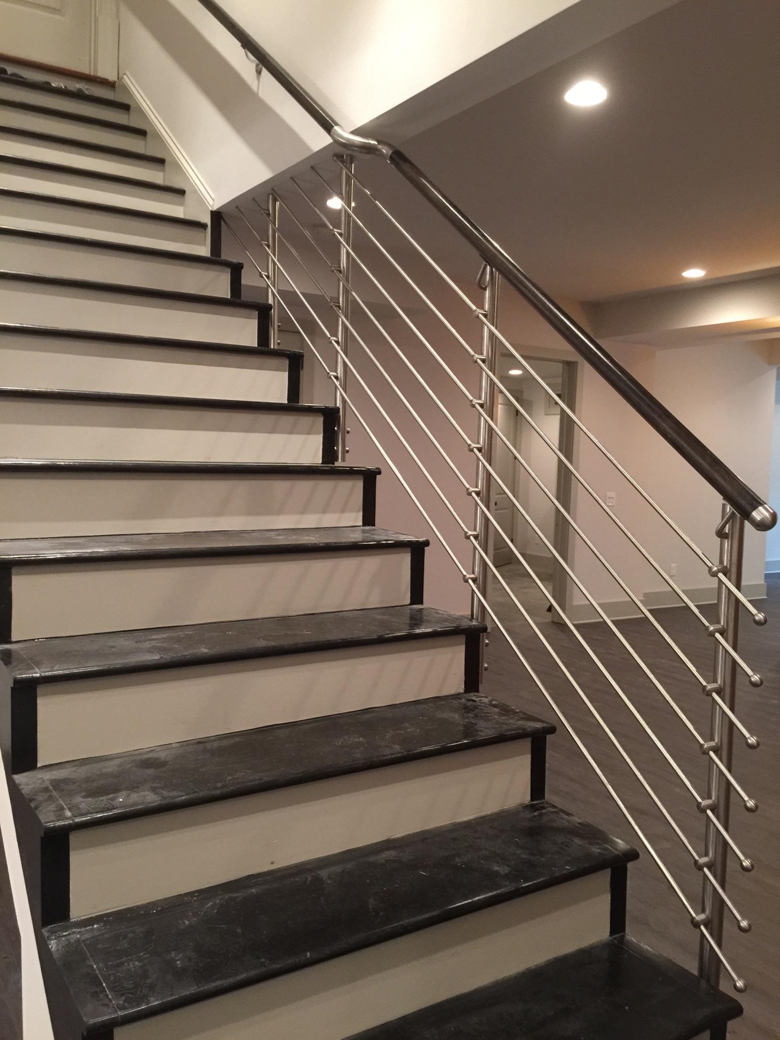 homepage stair solution. Black Bedroom Furniture Sets. Home Design Ideas