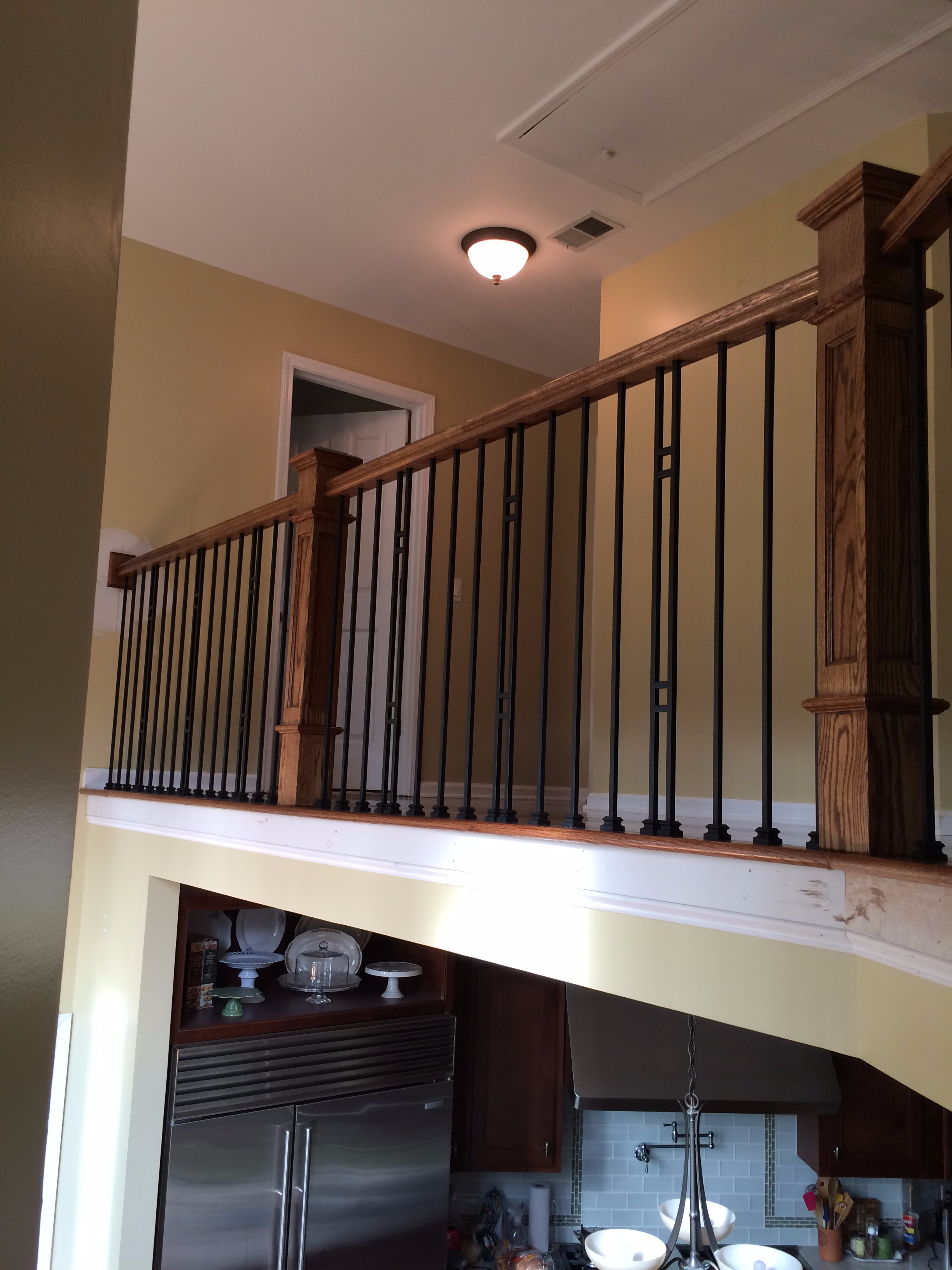 Deck Stair Handrail Ideas