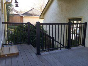Black Handrail Exterior