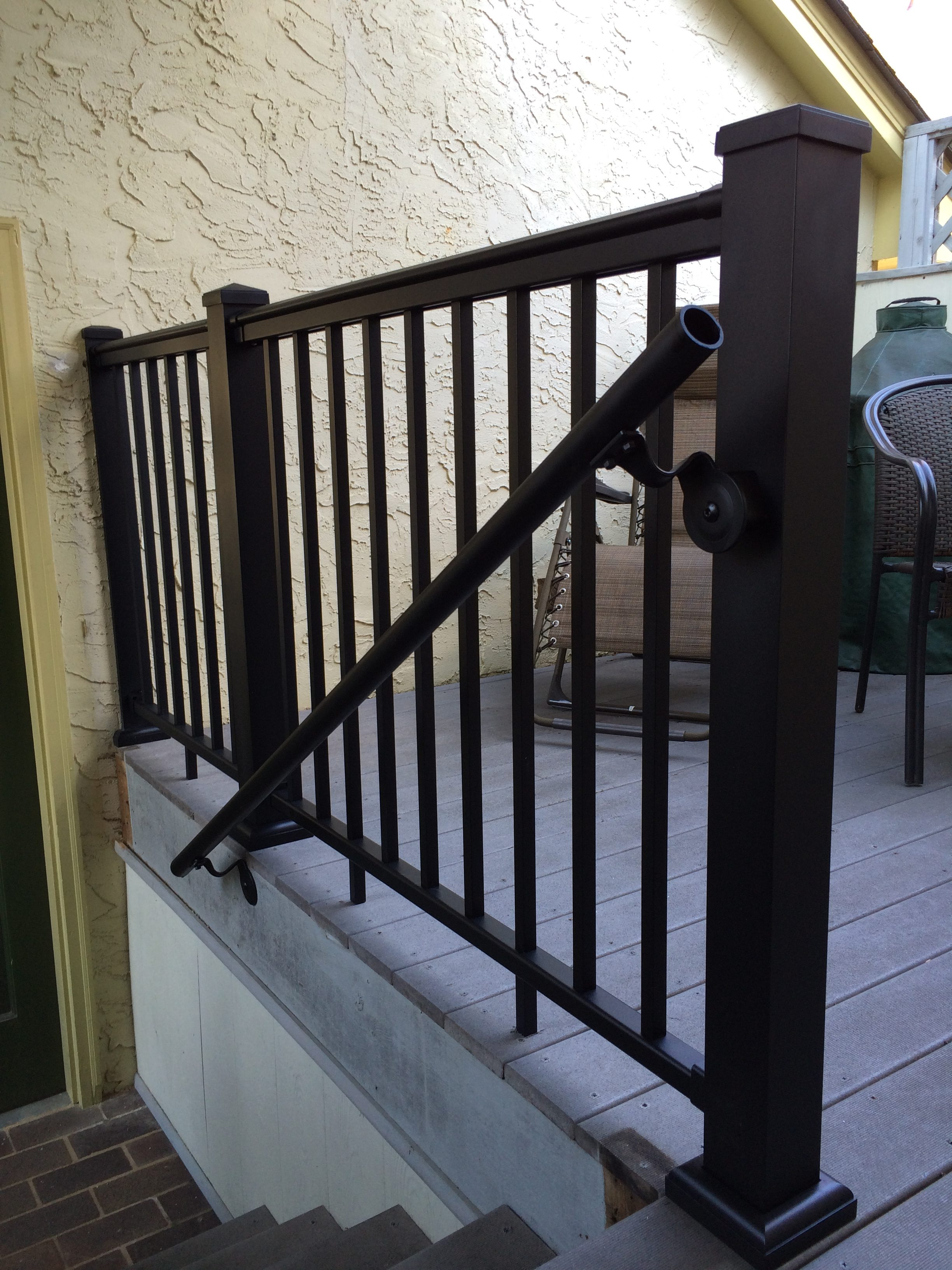 Redi rail afco aluminum stair railing systems