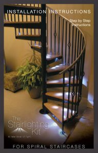 Light Kit for Spiral Staircase