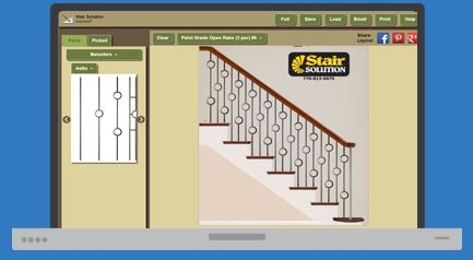 Interactive Staircase Design Tool