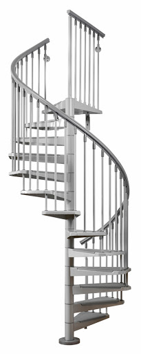 Arke eureka stair solution for 4 foot spiral staircase