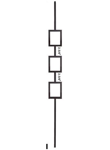 Triple Square Baluster