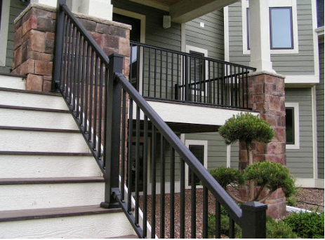 Aluminum Railings Bring Durability And Visibility