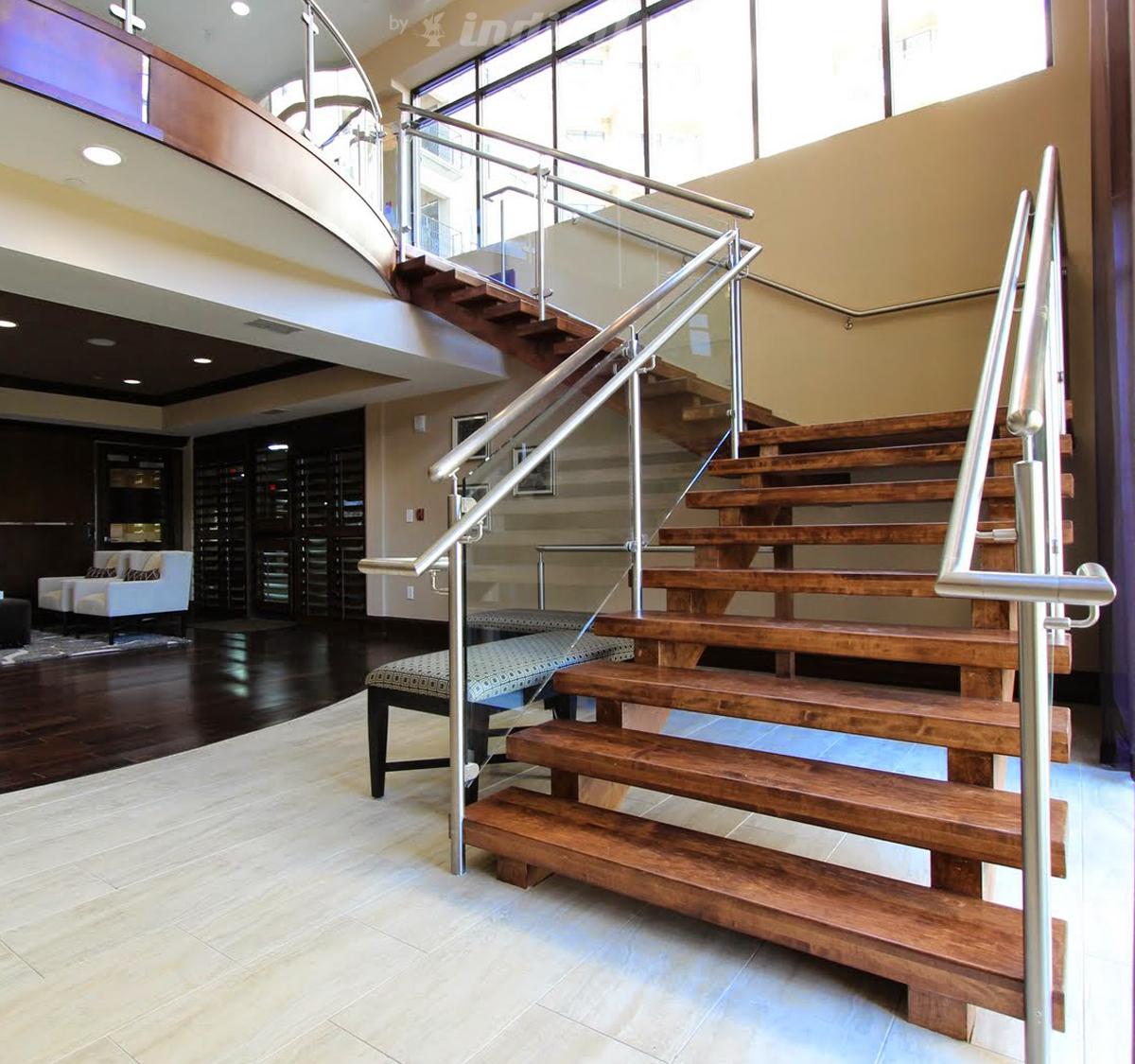 Modern stair railing systems