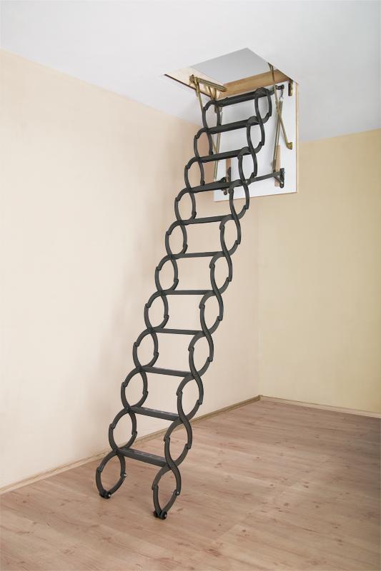 Lovely LST Attic Stair