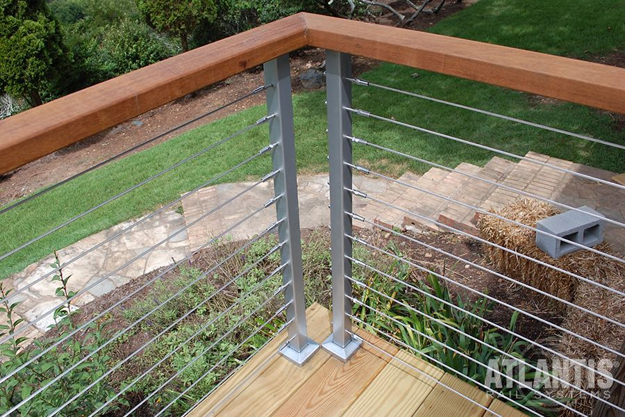 Atlantis Exterior Railing Spectrum Stair Solution 1