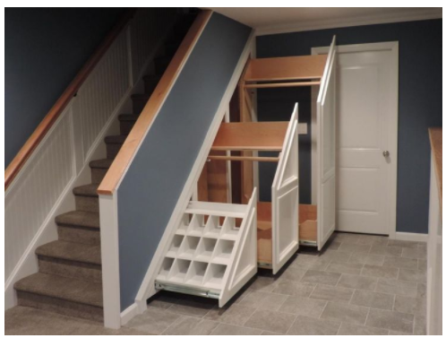 & Clever Storage Ideas for Your Stairs - Stair Solution