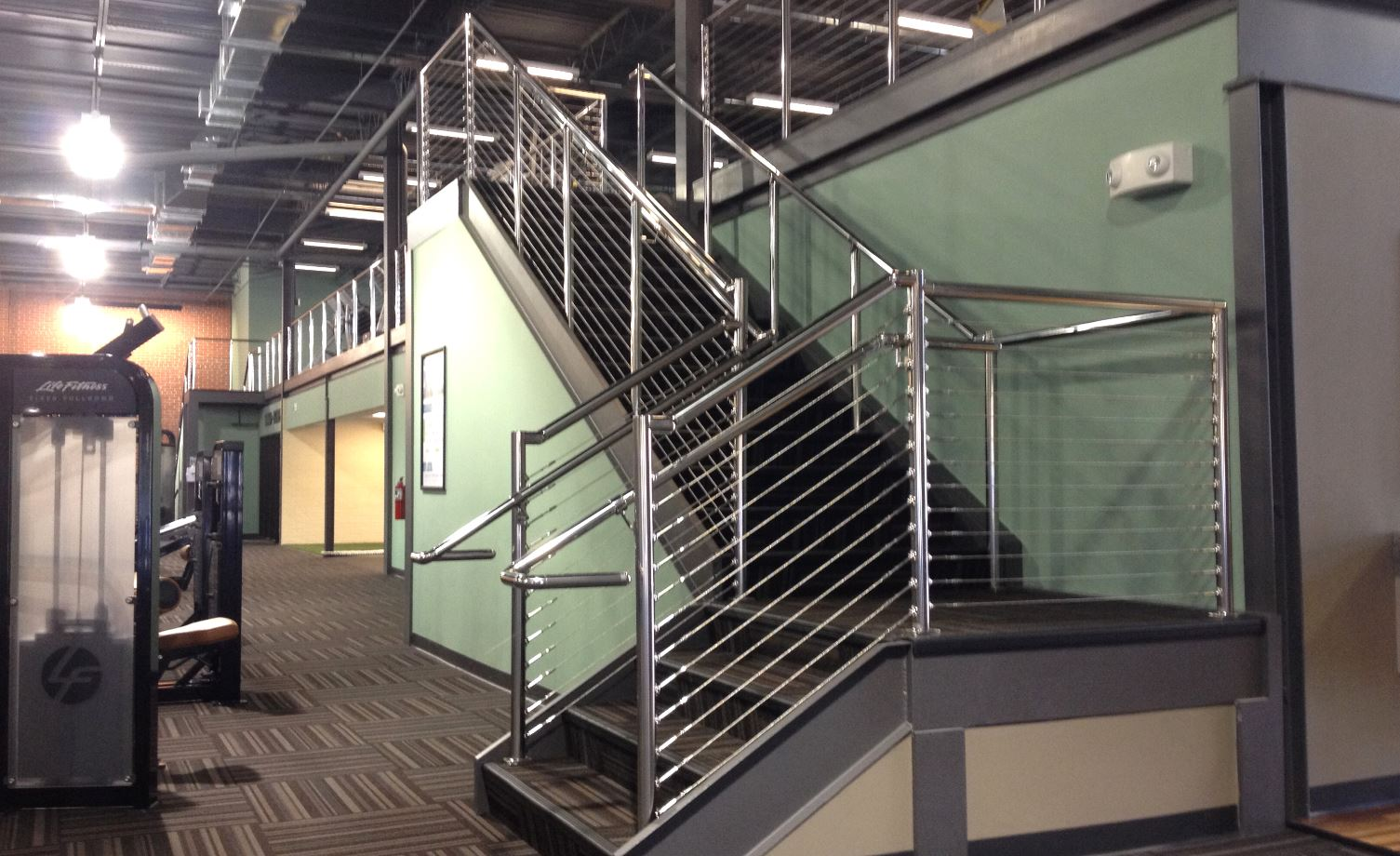 Residential And Commercial Staircase Rail Systems